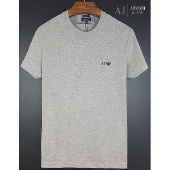 Camiseta Armani Cinza Básica - armani1 - TCHUCO STORE - GRANDES MARCAS