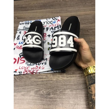 CHINELO Dolce e Gabanna Preto 1984 - chinelodolce4 - TCHUCO STORE - GRANDES MARCAS
