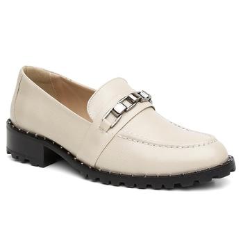Loafer Violanta Canadá Off White - Violanta Calçados Femininos