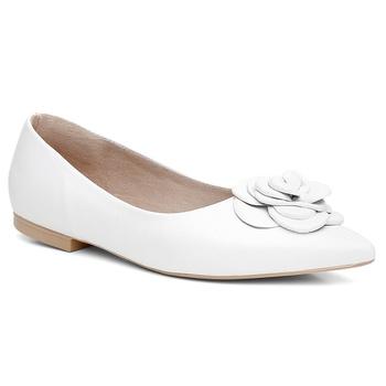 Sapatilha Couro Violanta Noronha Branco - Violanta Calçados Femininos