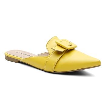Mule Violanta Mónaco Amarelo - Violanta Calçados Femininos