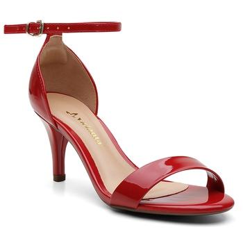 Sandália Violanta Gisele Vermelha - Violanta Calçados Femininos
