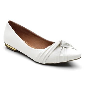 Sapatilha Violanta Indonésia Branco - Violanta Calçados Femininos
