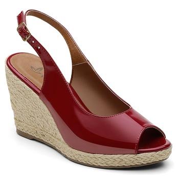 Sandália Violanta Burnie Vermelha - Violanta Calçados Femininos