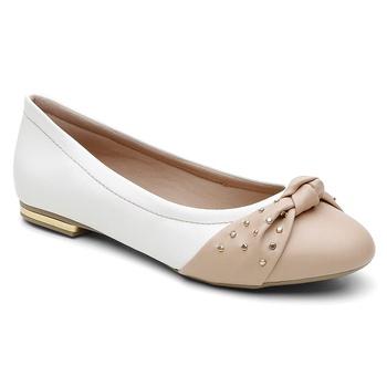 Sapatilha Violanta Aurora Branco - Violanta Calçados Femininos