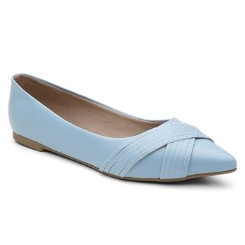 Sapatilha Violanta Teresina Azul Claro - Violanta Calçados Femininos