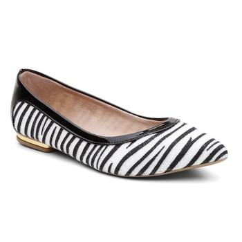 Sapatilha Violanta Africa Zebra Preto - Violanta Calçados Femininos