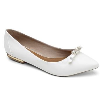 Sapatilha Violanta Atlanta Branco - Violanta Calçados Femininos