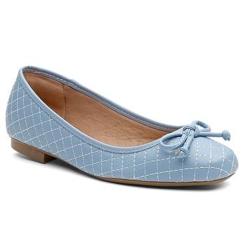 Sapatilha Violanta Carandaí Azul - Violanta Calçados Femininos