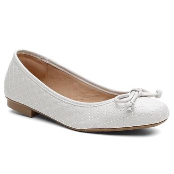 Sapatilha Violanta Carandaí Off White - Violanta Calçados Femininos