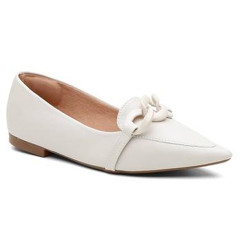 Sapatilha Violanta Olinda Off White - Violanta Calçados Femininos