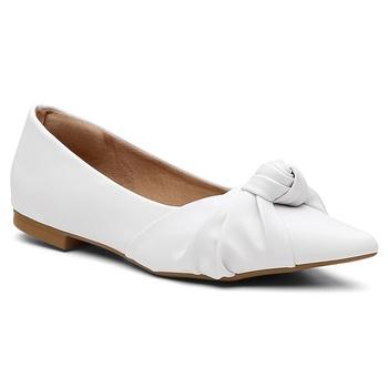 Sapatilha Violanta Diamantina Branca - Violanta Calçados Femininos