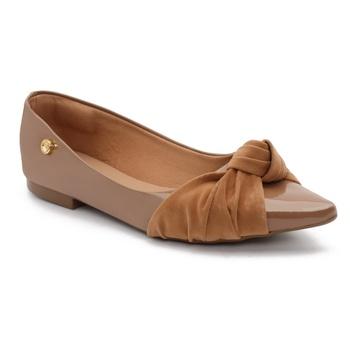 Sapatilha Violanta Milena Cristal Brown - Violanta Calçados Femininos