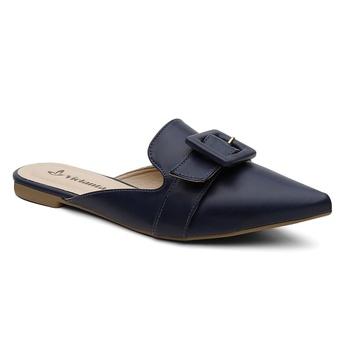 Mule Violanta Mónaco Azul Marinho - Violanta Calçados Femininos