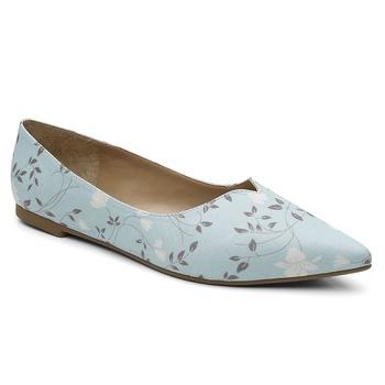 Sapatilha Violanta Amazonas Floral Azul - Violanta Calçados Femininos