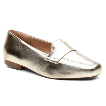 Sapatilha Violanta Anori Metal Ouro - Violanta Calçados Femininos