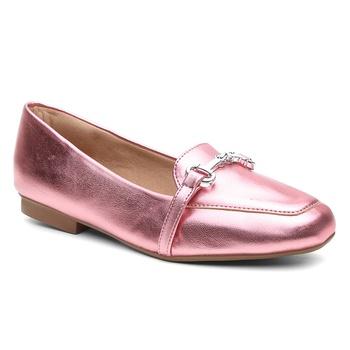 Sapatilha Violanta Jataí Metalizado Rosa - Violanta Calçados Femininos