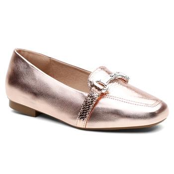 Sapatilha Violanta Escarpas Metal Rosê - Violanta Calçados Femininos