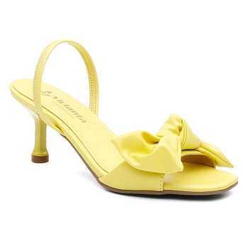 Sandália Violanta Milão Amarela - Violanta Calçados Femininos
