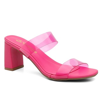 Sandália Violanta Boston Rosa - Violanta Calçados Femininos