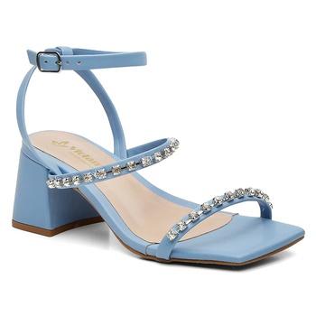 Sandália Violanta Jaci Azul - Violanta Calçados Femininos