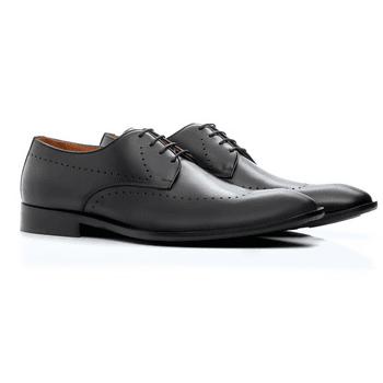 Sapato Social Preto de Amarrar
