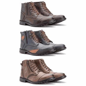 Kit 3 Pares - 501/502/505 - Fratelli Outlet | Especialista em Sapatos Sociais de couro