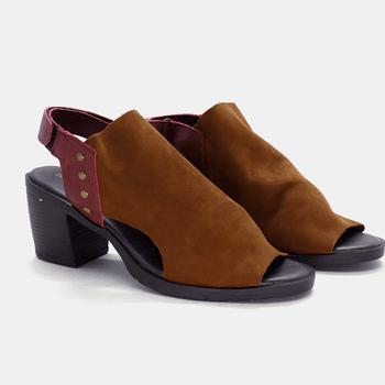 Sandália London Terracota e Vermelha - LD000/045 - Balatore Shoes
