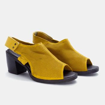 Sandália London Amarela - LD043/025 - Balatore Shoes