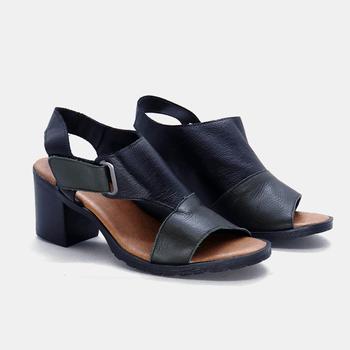 Sandália London Verde Militar e Preto - LD044/002 - Balatore Shoes