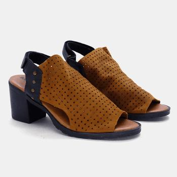 Sandália London Caramelo - LD016/CA - Balatore Shoes