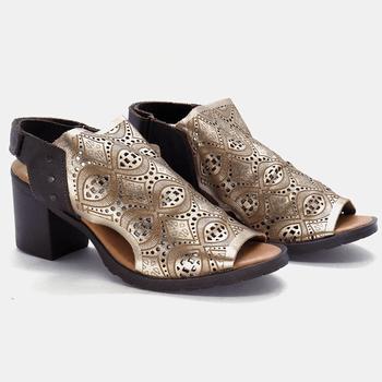 Sandália London Prata Velho - LD018/003 - Balatore Shoes