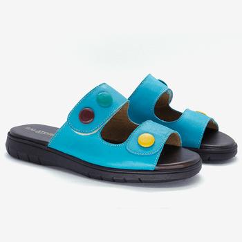 Birken Nômade Azul Turquesa - SN008/002 - Balatore Shoes