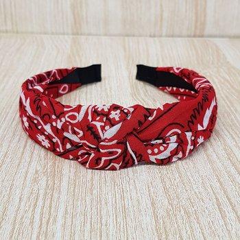 Tiara Turbante Vermelho