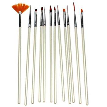 Kit Pincéis Brush Para Unhas Artísticas Profission...