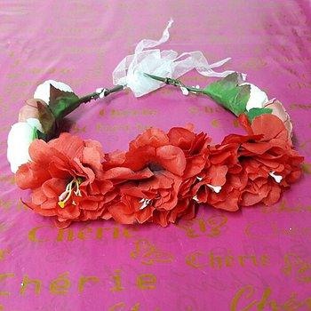 Coroa De Flores Vermelho