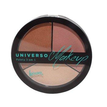 Paleta 3 em 1 Universo Makeup Luisance B *