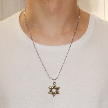 Colar Masculino Vainglory Estrela de Davi