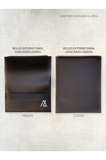 Case para Máscaras - Preto - ALINEA-BR