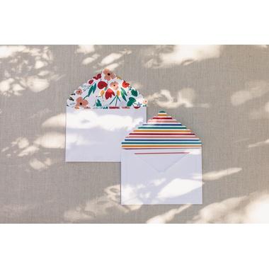 Cartão social Flora + Íris - ATELIER COUVERT
