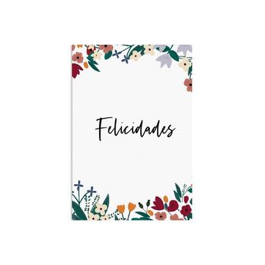 Cartão Felicidades Flora - ATELIER COUVERT
