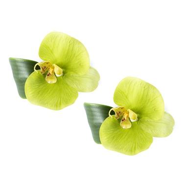 Porta Guardanapo Phalaenopsis verde - ATELIER COUVERT