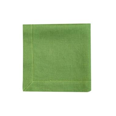 Guardanapo Cambraia de Linho verde folha - ATELIER COUVERT