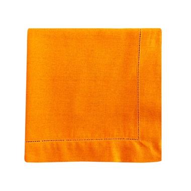 Guardanapo linho laranja - ATELIER COUVERT
