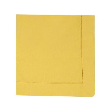 Guardanapo linho amarelo - ATELIER COUVERT