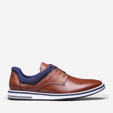 Sapato Masculino Derby Apolo Conhaque - We Basic - Sapatos Masculinos