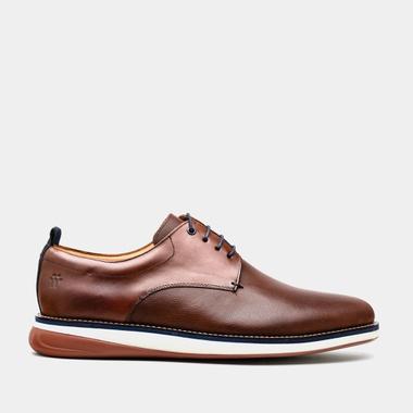 Sapato Masculino Derby - Winchester Conhaque - We Basic - Sapatos Masculinos