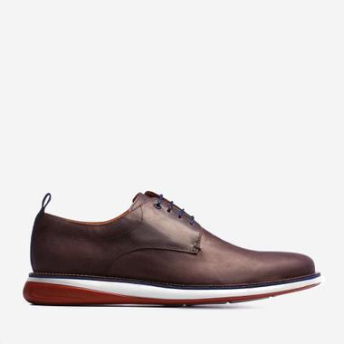 Sapato Masculino Derby - Winchester Café - We Basic - Sapatos Masculinos