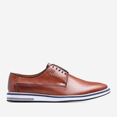 Sapato Masculino Derby - Louis Conhaque - We Basic - Sapatos Masculinos