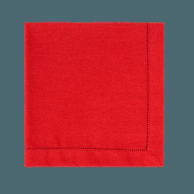 Guardanapo linho vermelho - ATELIER COUVERT